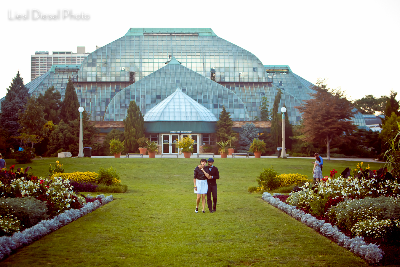 Lincoln Park Conservatory Engagement Session