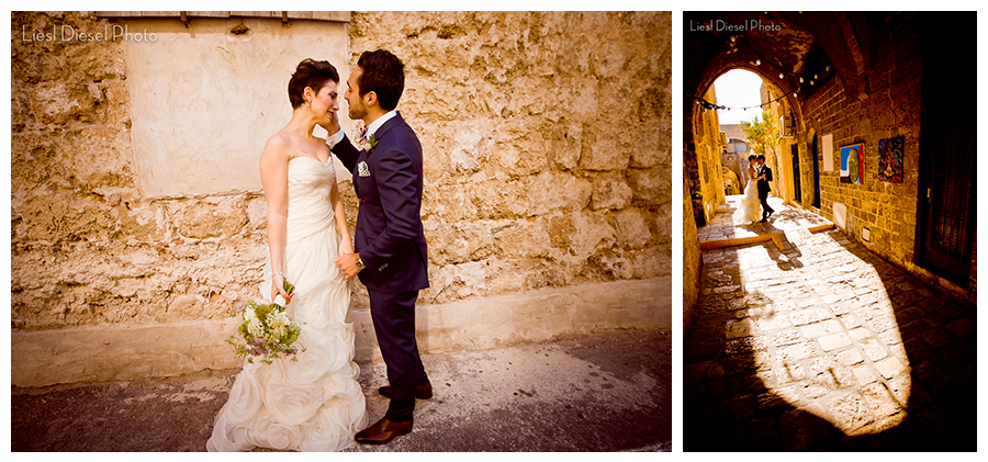 first look tel aviv israel destination wedding romantic silhouette liesldieselphoto