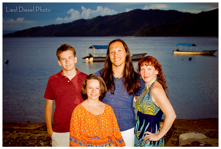 Liesl Diesel Photo and family on vacation in the Philippines