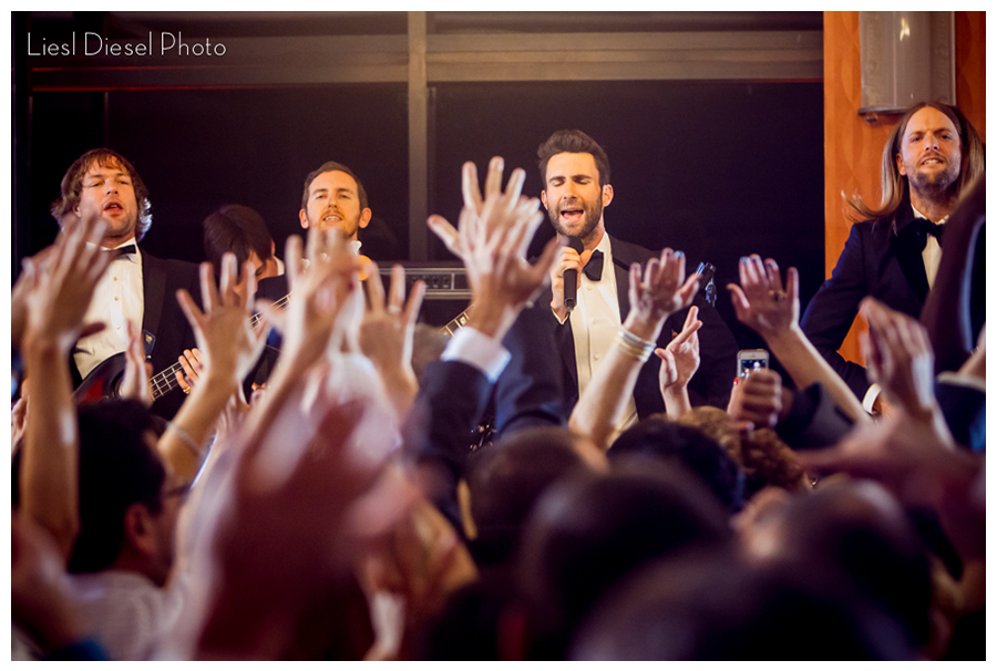 Adam Levine And Maroon 5 Crash A Wedding For A Music Video