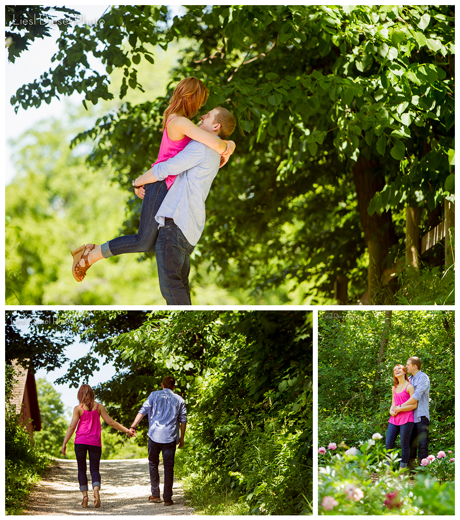 Warriors Path State Park Stables: Heritage Farm Engagement Session By Liesl Diesel Photo