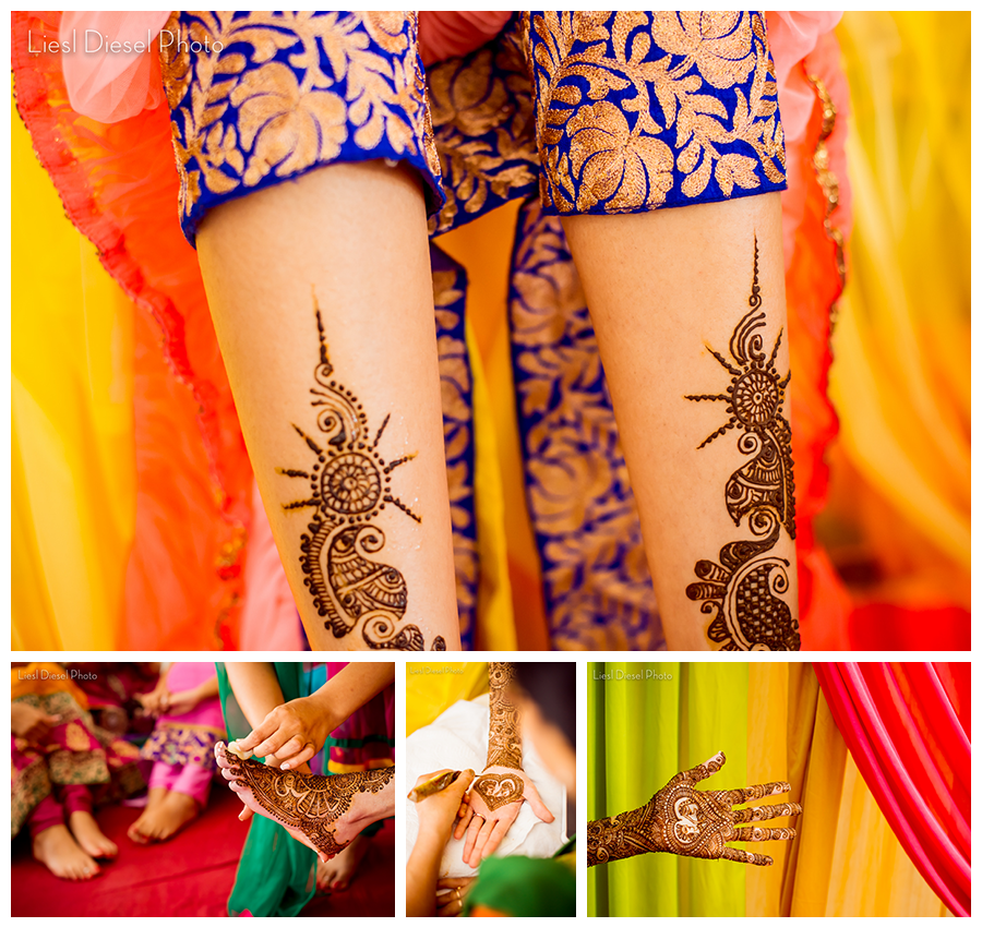 Mobile Henna Artist Los Angeles Ca: Henna Tattoo Party Mendi Mehndi Liesl Diesel Photo Lost