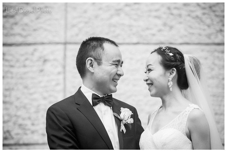 liesl diesel photo bride groom portrait chinese wedding black and white